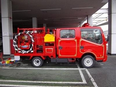 小型ポンプ積載車(普通車)